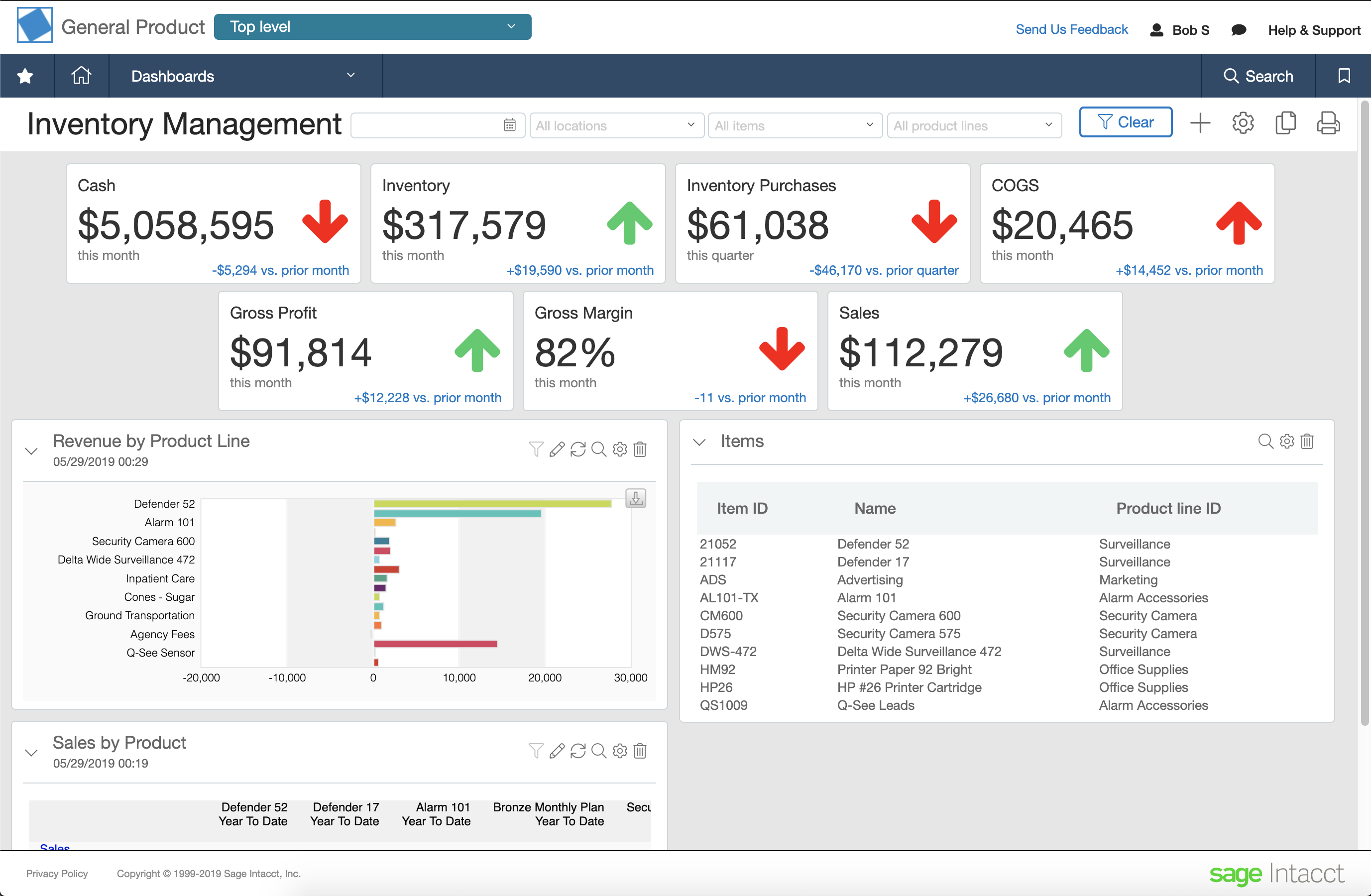 Cloud Inventory Management System | Sage Intacct