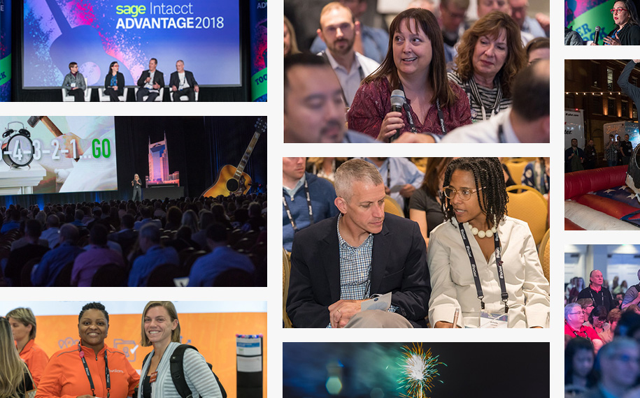 Sage Intacct Advantage 2018 conference