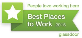 Glassdoor Best Places to Work 2015 Logo