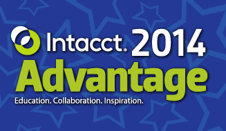 Intacct Blog: Intacct Advantage 2014 is Almost Here!