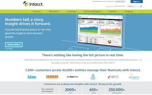 Intacct Blog: Introducing the New Intacct Website!