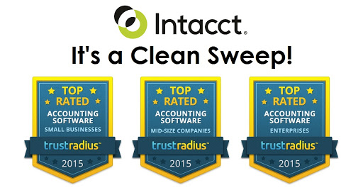 Intacct Blog: Intacct Proven as a Top Rated Solution Amongst User Community Reviews
