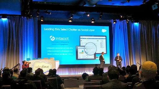 Intacct Blog: Intacct and Salesforce Chatter Come Together to Make Finance More Social
