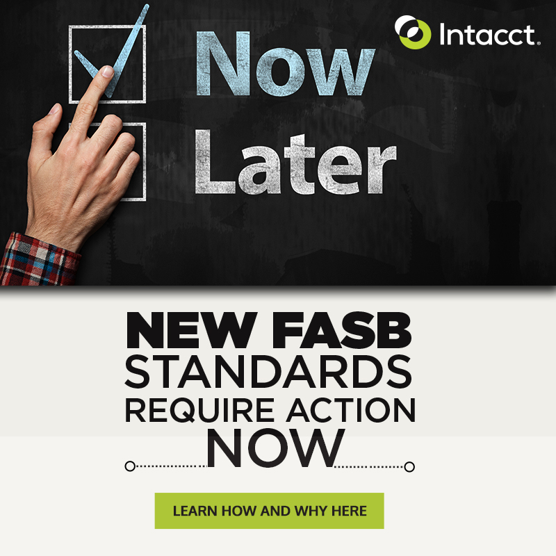 Intacct Blog: Are you ready for ASC 606 and IFRS 15?