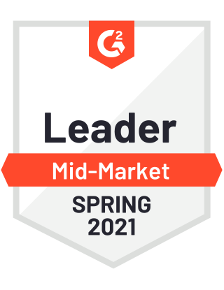 G2 leader ERP systems mid-market badge