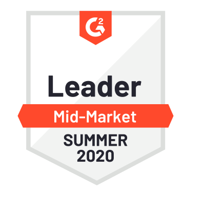 G2 Badge Mid-market Summer 2020