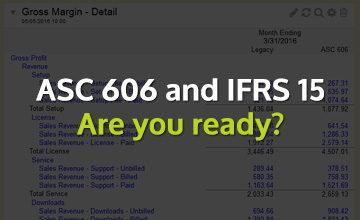 Are you ready for ASC 606 and IFRS 15?