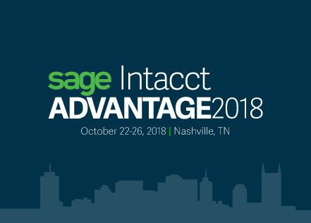Sage Intacct Advantage 2018