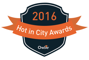 Owler 2016 Hot in San Jose Award