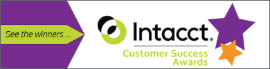 Intacct Customer Success Awards