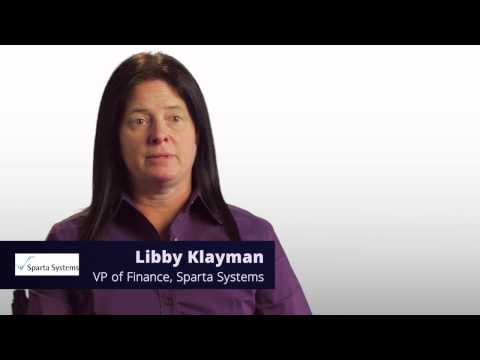 Intacct Customer Success Award - Sparta Systems