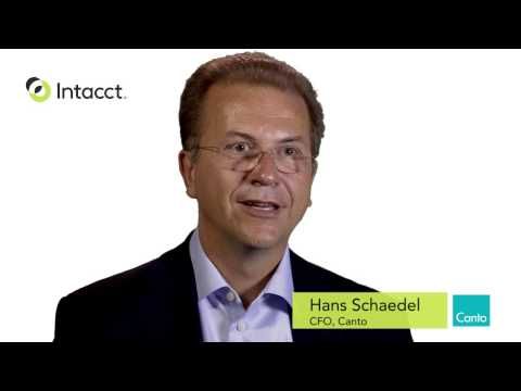 Intacct integration with Salesforce