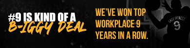 Intacct Top Workplaces 7 years in a row