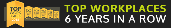 Intacct Top Workplaces 6 years in a row