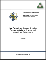 How Professional Services Firms Use Technology to Drive Financial and Operational Performance