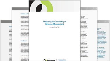 Revenue management - White Paper: Mastering the Complexity of Revenue Management