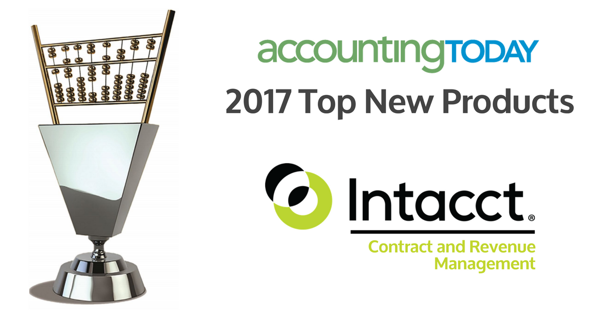 Accounting Today Top New Products 2017