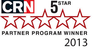 CRN 5-Star Partner Program Winner 2013 logo