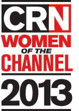 CRN Women of the Channel 2013 logo