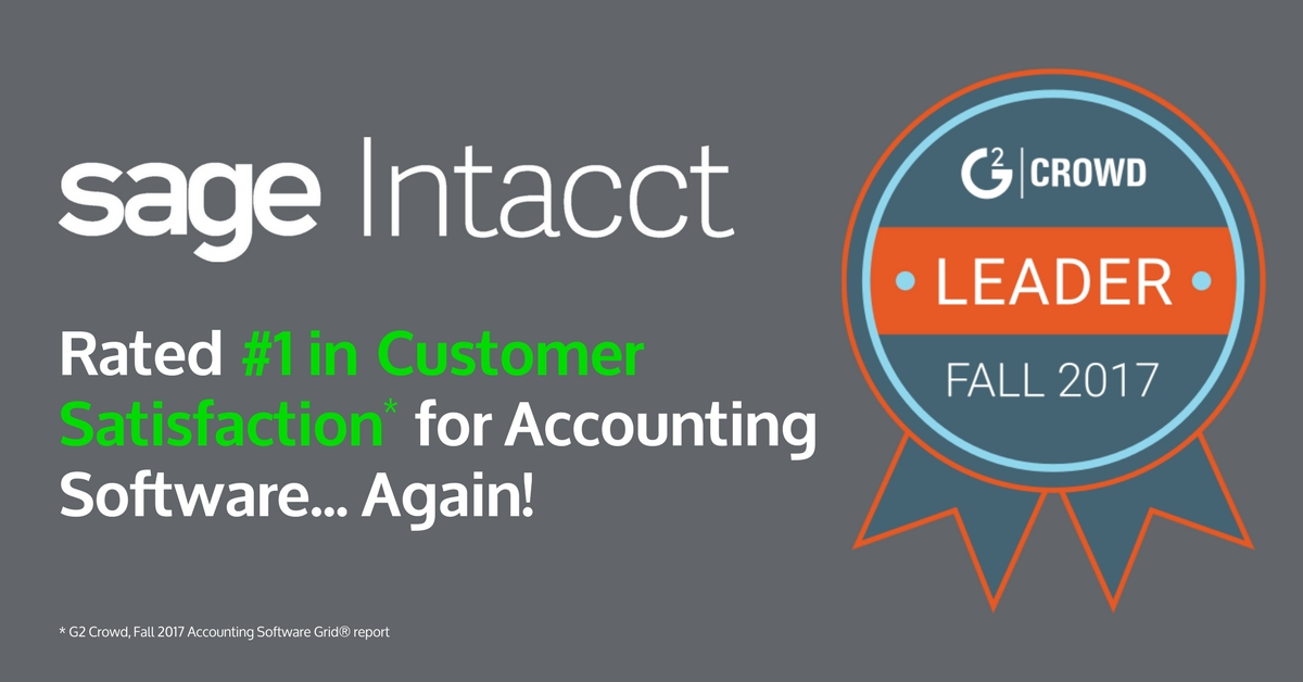 Sage Intacct Satisfaction