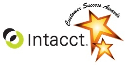 Intacct Customer Success Awards logo