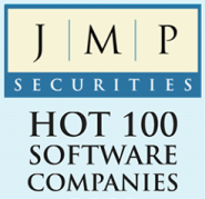 JMP Securities Hot 100 Software Companies logo