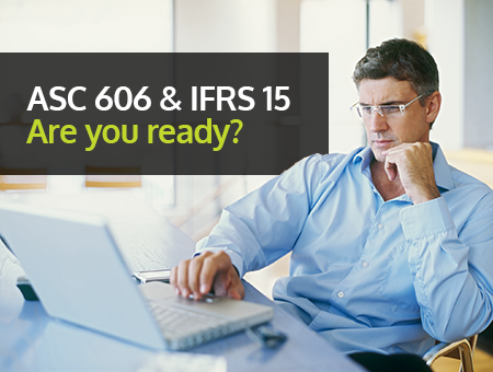 ASC 606 and IFRS 15 readiness
