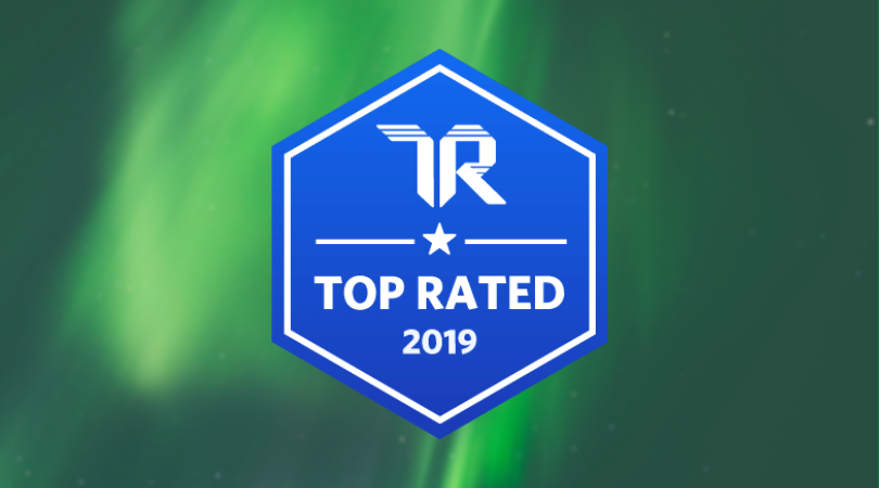 TrustRadius Top Rated Banner