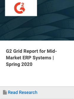 G2 Crowd ERP Systems Grid Report