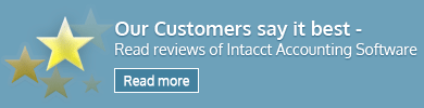Intacct accounting software reviews