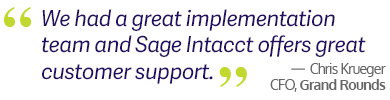 Sage Intacct Service Support
