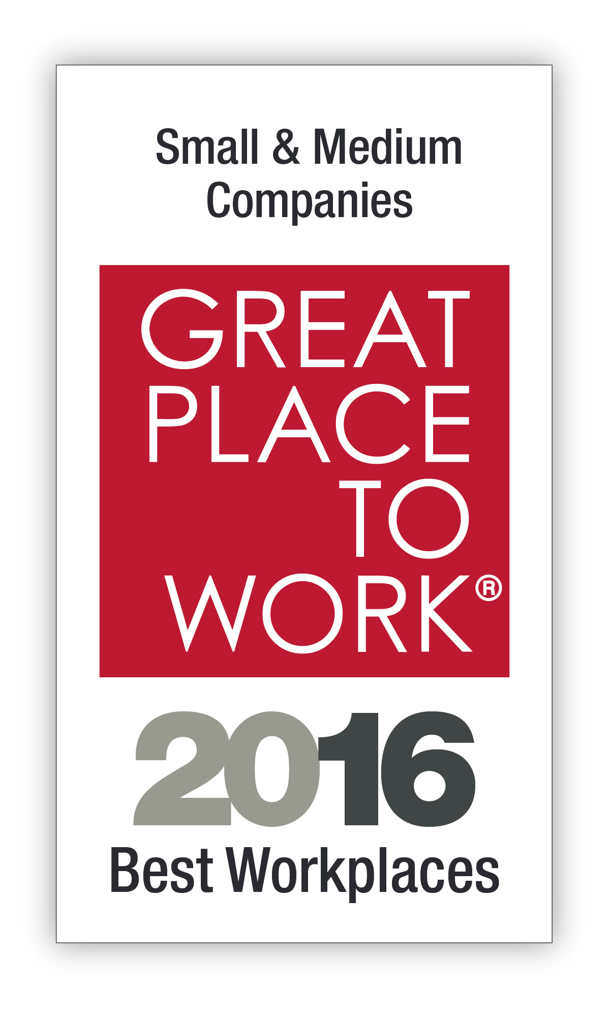 Best Small & Medium Workplaces