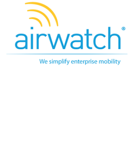 customer success award winner airwatch intacct