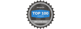 AlwaysOn OnCloud Top 100 Logo