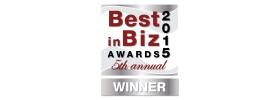 Best in Biz Awards 2015 Silver Logo