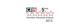 CRN 5-Star Partner Program 2015 logo