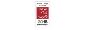 2016 Best Workplaces for Recent College Grads