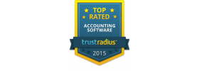 Trust Radius Top Rated Accounting Software 2015