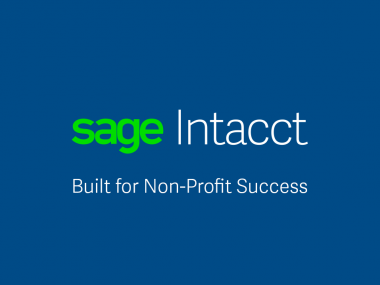 Sage Intacct Nonprofit Software