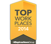 Intacct Top Workplace 2014
